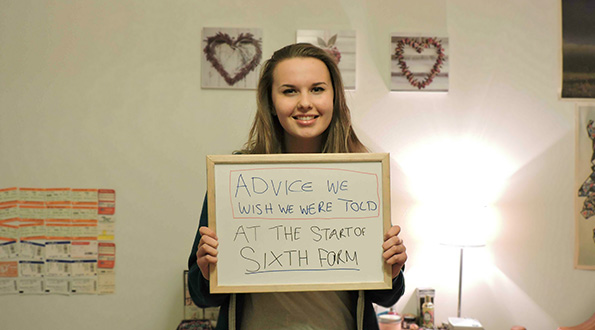 Advice from Year 13s